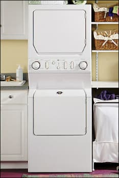 Maytag MLG2000AWW 27 Inch Gas Laundry Center with 3.34 Cu ...