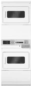 Maytag Commercial Laundry MLE24PDAWW - Front View