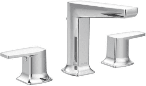 Moen Via TS8002 - Via Chrome Two-Handle Bathroom Faucet