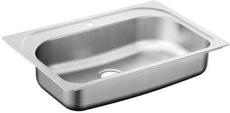 Moen 1800 G181631C - 18 Gauge Single Bowl Sink