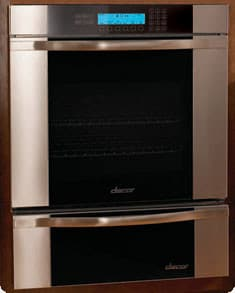 Dacor Discovery Millennia MO127 - Wall Oven with Vertical Stainless Steel Trim