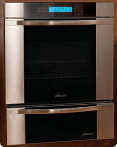 Dacor Discovery Millennia MO130 - Wall Oven with Vertical Stainless Steel Trim