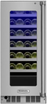 Marvel Professional Series MP15WSG4LS - Marvel 24-Bottle Wine Refrigerator