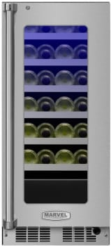 Marvel Professional Series MP15WSG4RS - Marvel 24-Bottle Wine Refrigerator