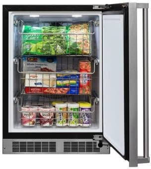"Marvel Professional Series MP24FA - 24"" Built-In/Freestanding All-Freezer"