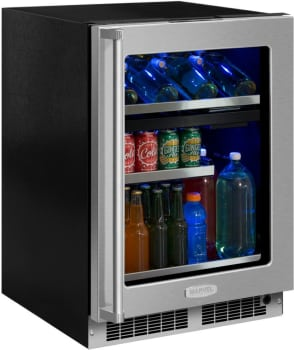 Marvel Professional Series MP24WBG4RS - Wine and Beverage Center (Stainless Frame Model Shown Here)
