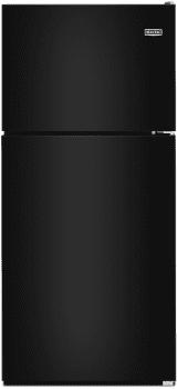 "Maytag MRT311FFFE - 33"" Top Freezer Refrigerator in Black Ice"