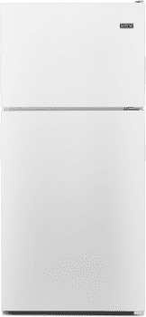 "Maytag MRT311FFFH - 33"" Top Freezer Refrigerator in White Ice"