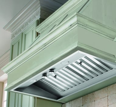 Vent-A-Hood M Line Series M58PSLDSS - M-PSLD Series Liner (Installed, Not Exact Model)