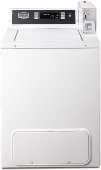 "Maytag Commercial Laundry MVW18PDBWW - 27"" Maytag Commercial Energy Advantage Top Load Washer, Coin Box Ready"