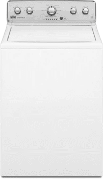 Maytag Centennial Series MVWC425BW - 3.8 Cu. Ft. HE Top-Load Washer with Fountain Impeller
