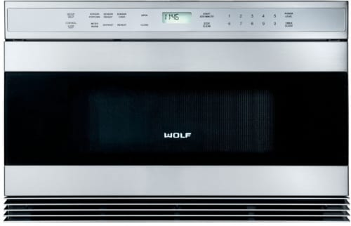 Wolf MWD242US - Unframed Stainless Steel