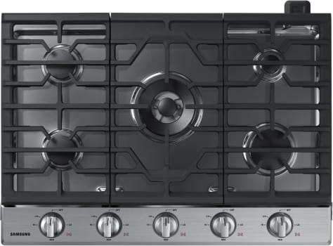 Samsung NA30K6550TS - Gas Cooktop with 5 Burners from Samsung with Stainless Steel Trim