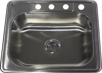 Nantucket Sinks Madaket Collection NS25228 - Drop-In Kitchen Sink from Nantucket