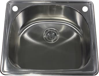 Nantucket Sinks NS2522D - Drop-In Kitchen Sink from Nantucket