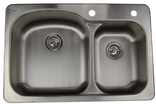Nantucket Sinks Madaket Collection NS3322OS - Drop-In Kitchen Sink from Nantucket