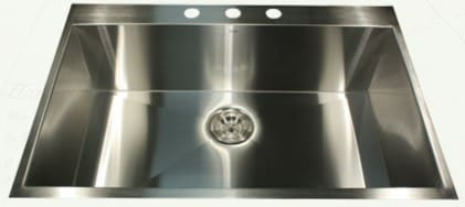 Nantucket Sinks Pro Series ZR332216 - Drop-In Kitchen Sink from Nantucket