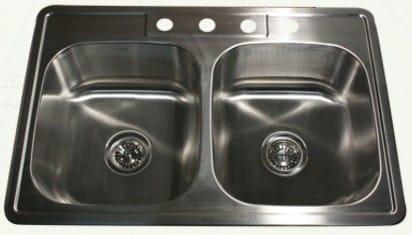 Nantucket Sinks Madaket Collection NS332220DE - Drop-In Kitchen Sink from Nantucket