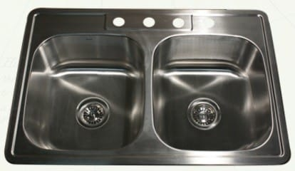 Nantucket Sinks Madaket Collection NS3322DE9 - Drop-In Kitchen Sink from Nantucket