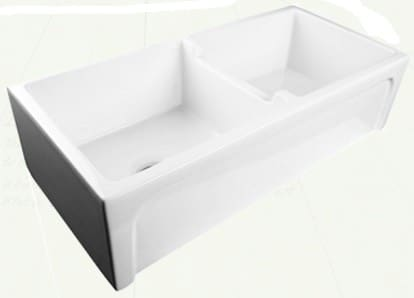 Nantucket Sinks Cape Collection CHATHAM39DBL - Farmhouse Apron Sink from Nantucket