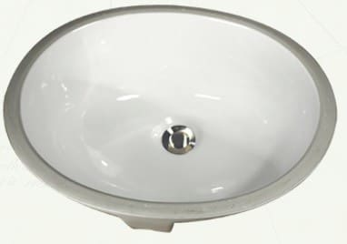 Nantucket Sinks Great Point Collection GB15X12W - Undermount Bathroom Sink from Nantucket