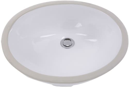 Nantucket Sinks Great Point Collection GB17X14W - Undermount Bathroom Sink from Nantucket