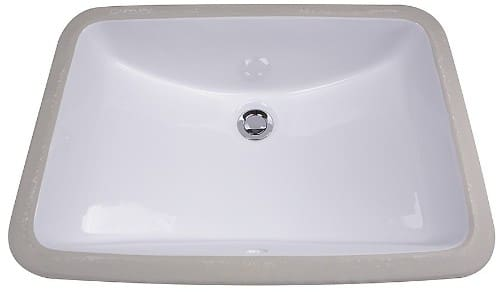Nantucket Sinks Great Point Collection GB18X12W - Undermount Bathroom Sink from Nantucket