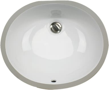 Nantucket Sinks Great Point Collection UM17X14WK - White