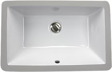 Nantucket Sinks Great Point Collection UM19X11W - White
