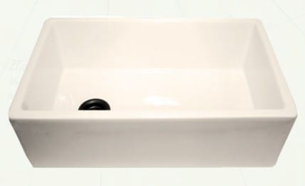 Nantucket Sinks Cape Collection FCFS30B - Farmhouse Apron Sink from Nantucket - Bisque