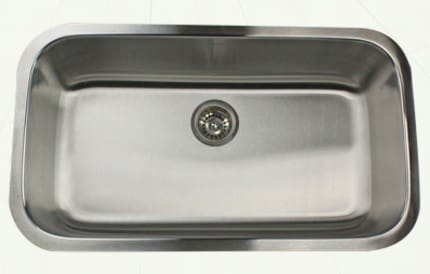 Nantucket Sinks Sconset Collection NS321916 - Undermount Kitchen Sink from Nantucket