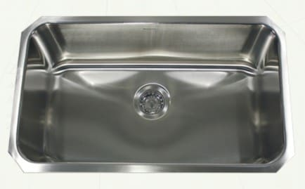 Nantucket Sinks Sconset Collection NS43916 - Undermount Kitchen Sink from Nantucket
