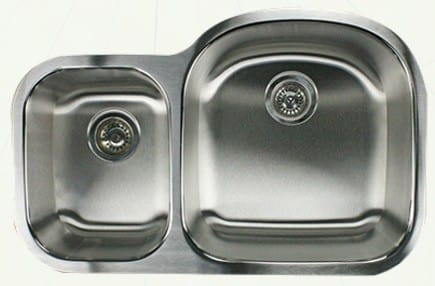 Nantucket Sinks Quidnet Collection NS7030R16 - Model No. NS7030R16: Small Bowl on Left