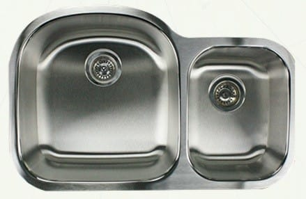 Nantucket Sinks Quidnet Collection NS703018 - Undermount Kitchen Sink from Nantucket