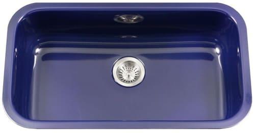Houzer PCG3600NB - Navy Blue Top View