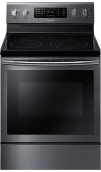 "Samsung NE59J7630SG - 30"" Freestanding Electric Range with 5.9 cu. ft. Capacity - Front view"