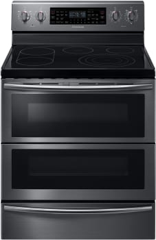Samsung NE59J7850WG - 30 Inch Freestanding Electric Flex Duo Range with 5 Radiant Elements