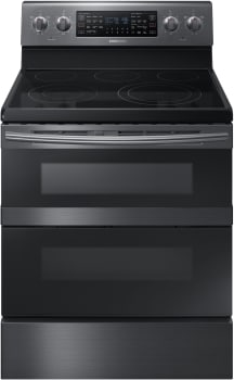 Samsung NE59M6850SG - Black Stainless Steel Front View