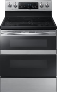 Samsung NE59M6850SS - Stainless Steel Front View