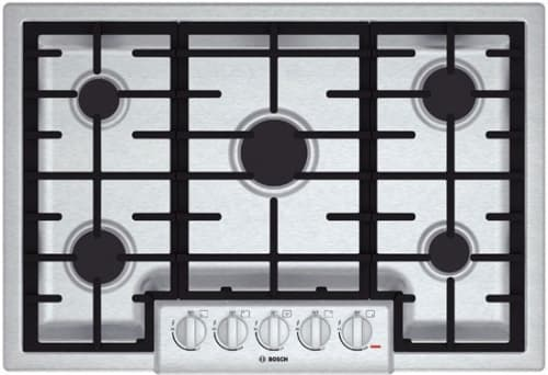 Bosch 800 Series NGM8055UC - 31 Inch Gas Cooktop with 5 Sealed Burners