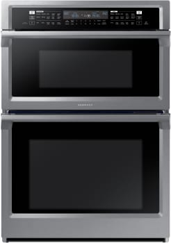 Samsung NQ70M6650DS - Stainless Steel Front View