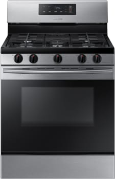 Samsung NX58K3310SS - 5.8 cu. ft. Freestanding Gas Range in Stainless Steel