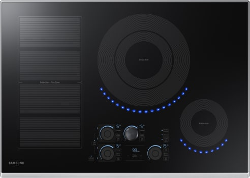 Samsung NZ30K7880US - 30 Inch Induction Cooktop with Black Stainless Steel Trim
