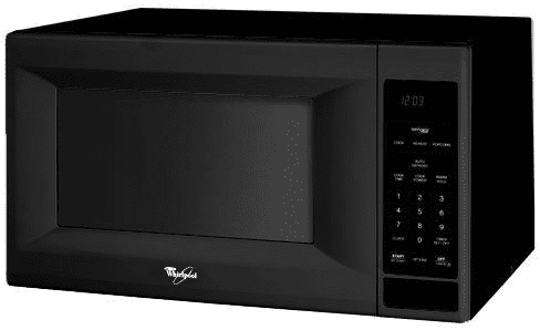 Whirlpool Mt4155spb 1 5 Cu Ft Countertop Microwave Oven With 1200 Cooking Watts Sensor Cooking Cycles Jet Start Control Black