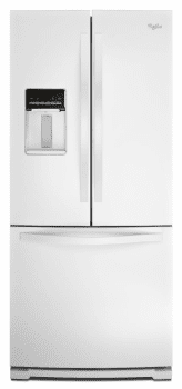 Whirlpool WRF560SEYW - White Front View