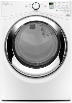 Whirlpool Duet Steam WGD87HEDW - White Front View