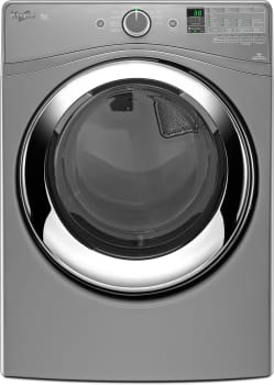 Whirlpool Duet Steam WED87HEDC - Chrome Shadow Front View