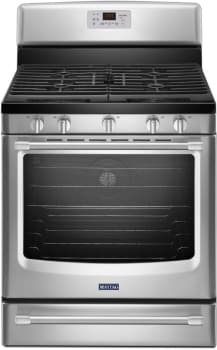 Maytag Heritage Series MGR8700DS - Stainless Steel Front