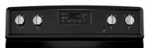 Maytag MER8700DB - Black Electronic Display and Knobs