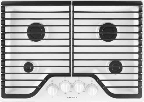 Amana AGC6540KFW - White Front View